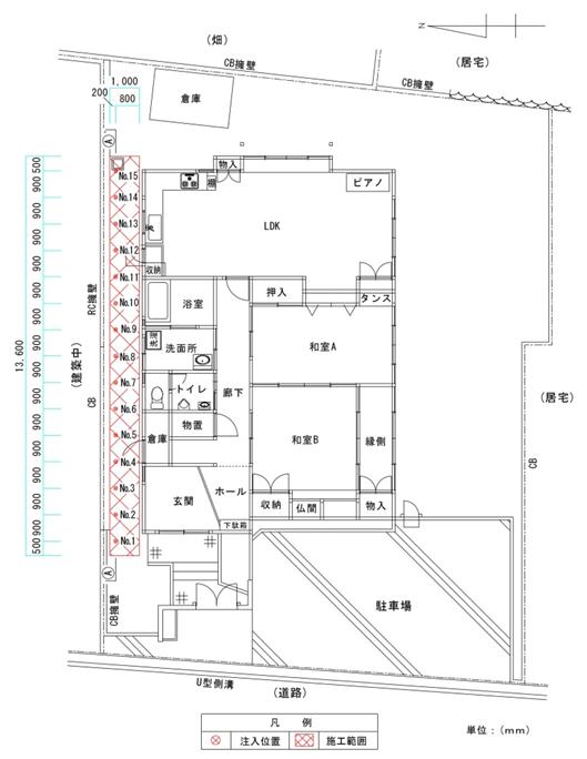 施工平面図